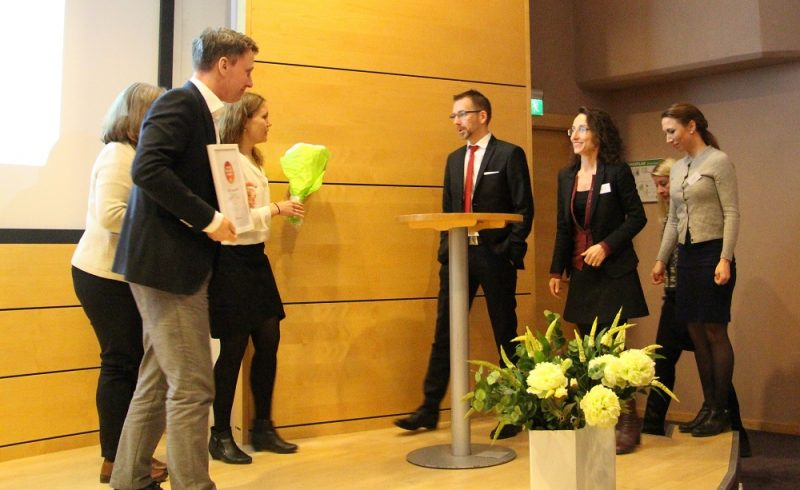 HSB Bostad, vinnare av utmärkelsen Årets nöjdaste kunder 2016